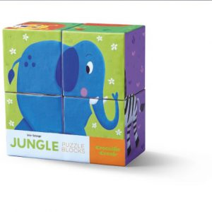 4 pc Block Set/Jungle