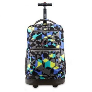 J world Rolling Backpack Cubes