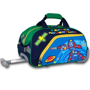 J world Rolling Duffel Bag Robot