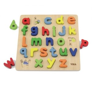 Block Puzzle Alphabet Lowercase