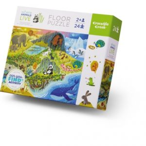 24 Pc Early Learning Animals