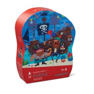 24 Pc Mini Puzzle Pirate Party