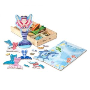 Mermaid Magnetic Dress- up