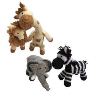 Crochet Animals Set of 4
