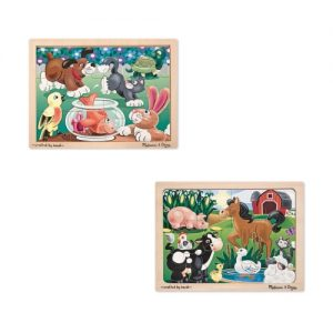 Pets & On the Farm 12 Pc Puzzle