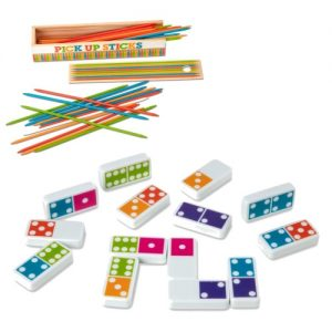 Dominoes & Pick Up Sticks