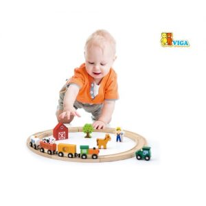 Train Play Set  19 pcs