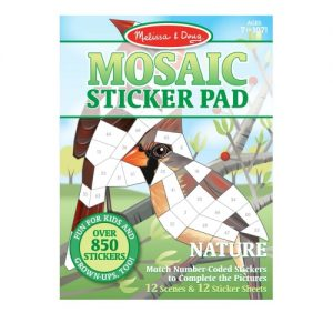 Mosaic Sticker Pad – Nature