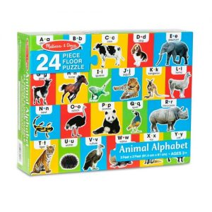 Animal Alphabet Floor Puzzle (24 pc)