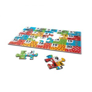 Farm Number Floor Puzzle (24 pc)