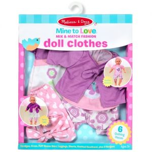 Mix & Match Fashion Doll Clothes