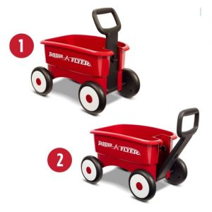 Radio Flyer My First Wagon 2 in 1