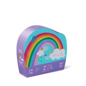 12Pc Mini Puzzle Rainbow