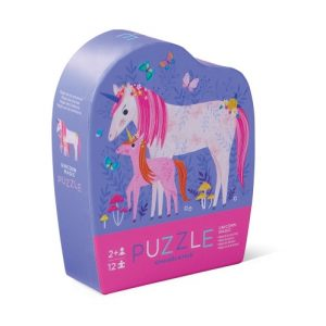 12Pc Mini Puzzle Unicorn Magic
