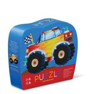 12Pc Mini Puzzle Monster Truck