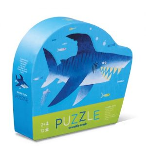 12Pc Mini Puzzle Shark City