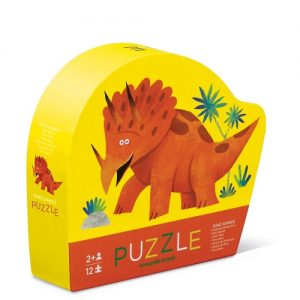12Pc Mini Puzzle Dino Dance