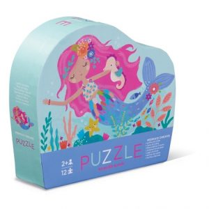 12Pc Mini Puzzle Mermaid Dream