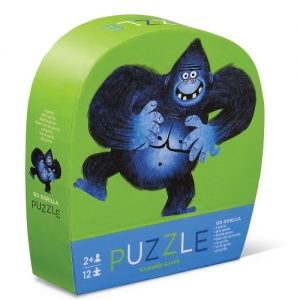 12Pc Mini Puzzle Go Gorilla