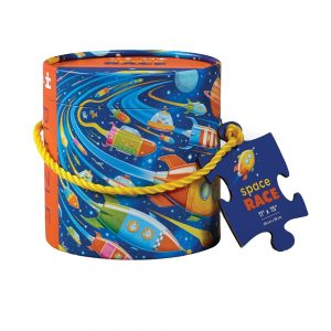 Puzzle 24 PC Mini Canister Space Race