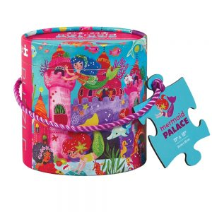 Puzzle 24 PC Mini Canister Mermaid Palace