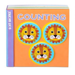 Soft Shapes Book – Counting