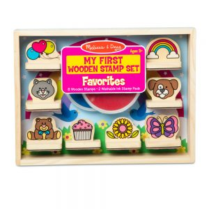 My First Wooden Stamp Set – Favourites