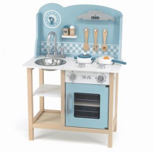 Blue Kitchen w/Accessories