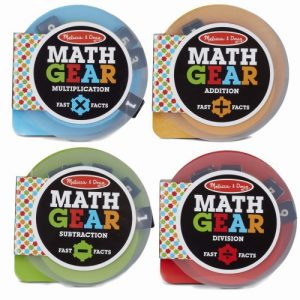 Math Gears set of 4