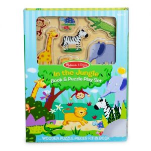 Book & Puzzle Play Set : In the Jungle