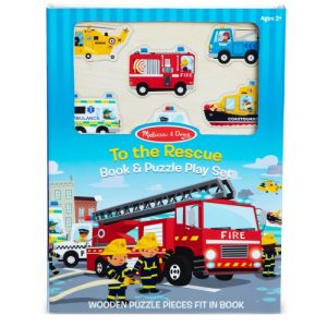 Book & Puzzle Play Set : To the Rescue